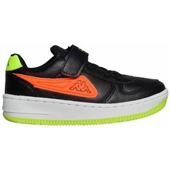 kengät Lapset Matalavartiset tennarit Kappa Bash PC K Mustat, Vihreät, Oranssin väriset