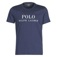 vaatteet Miehet Lyhythihainen t-paita Polo Ralph Lauren SS CREW Laivastonsininen