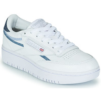 kengät Naiset Matalavartiset tennarit Reebok Classic CLUB C DOUBLE White / Blue