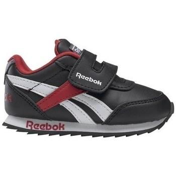 kengät Lapset Matalavartiset tennarit Reebok Sport Royal CL Jogger Mustat, Tummanpunainen