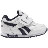 kengät Lapset Matalavartiset tennarit Reebok Sport Royal CL Jogger Mustat, Tummansininen