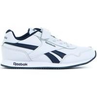 kengät Lapset Matalavartiset tennarit Reebok Sport Royal CL Jogger Valkoiset,Tummansininen