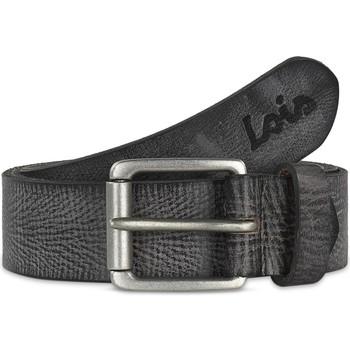 Asusteet / tarvikkeet Miehet Vyöt Lois Crack leather Musta