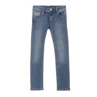 vaatteet Pojat Skinny-farkut Diesel SLEENKER Blue