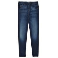 vaatteet Tytöt Skinny-farkut Diesel D-SLANDY HIGH Sininen