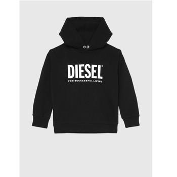 vaatteet Lapset Svetari Diesel SDIVISION LOGO Musta