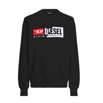 vaatteet Lapset Svetari Diesel SGIRKCUTY Musta
