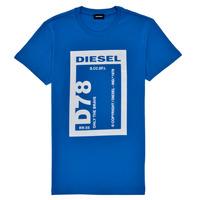 vaatteet Pojat Lyhythihainen t-paita Diesel TFULL78 Sininen
