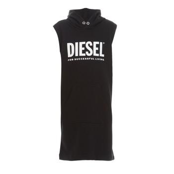 vaatteet Tytöt Lyhyt mekko Diesel DILSET Musta