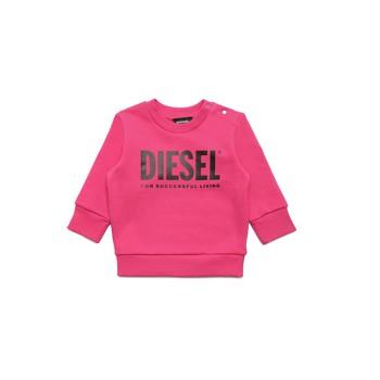 vaatteet Tytöt Svetari Diesel SCREWDIVISION LOGOB Vaaleanpunainen