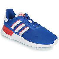 kengät Lapset Matalavartiset tennarit adidas Originals LA TRAINER LITE J Sininen / Valkoinen