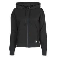 vaatteet Naiset Svetari adidas Performance W Knit V Hoodie Black