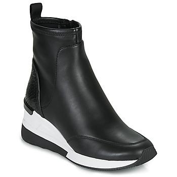 kengät Naiset Korkeavartiset tennarit MICHAEL Michael Kors KINSEY Musta