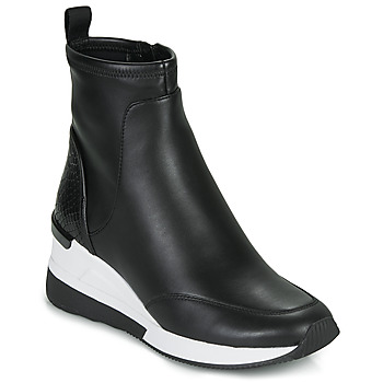 kengät Naiset Korkeavartiset tennarit MICHAEL Michael Kors KINSEY Black