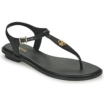 kengät Naiset Sandaalit ja avokkaat MICHAEL Michael Kors MALLORY THONG Musta