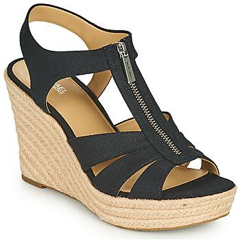 kengät Naiset Sandaalit ja avokkaat MICHAEL Michael Kors BERKLEY WEDGE Musta