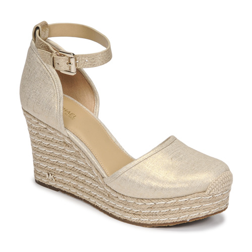 kengät Naiset Sandaalit ja avokkaat MICHAEL Michael Kors KENDRICK WEDGE Kulta