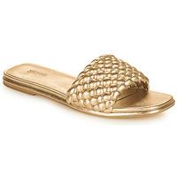 kengät Naiset Sandaalit MICHAEL Michael Kors AMELIA FLAT SANDAL Kulta