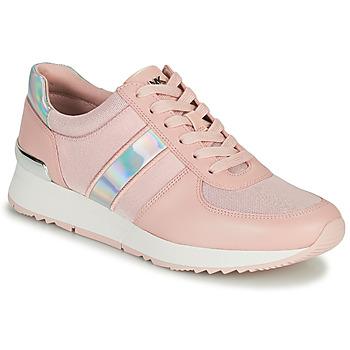 kengät Naiset Matalavartiset tennarit MICHAEL Michael Kors ALLIE TRAINER Vaaleanpunainen