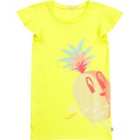 vaatteet Tytöt Lyhyt mekko Billieblush / Billybandit U12625-599 Yellow