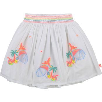 vaatteet Tytöt Hame Billieblush / Billybandit U13275-10B Valkoinen