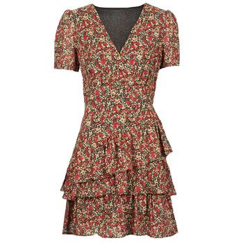 vaatteet Naiset Lyhyt mekko Moony Mood  Punainen