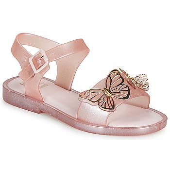 kengät Tytöt Sandaalit ja avokkaat Melissa MEL MAR SANDAL FLY Vaaleanpunainen / Kulta