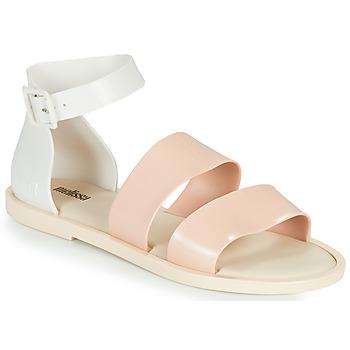 kengät Naiset Sandaalit ja avokkaat Melissa MELISSA MODEL SANDAL Valkoinen / Vaaleanpunainen