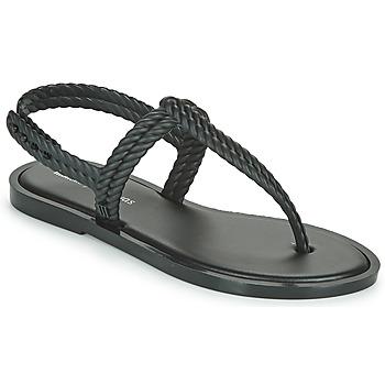 kengät Naiset Varvassandaalit Melissa FLASH SANDAL + SALINAS Musta