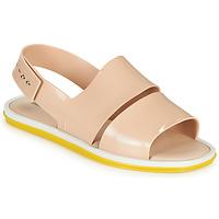 kengät Naiset Sandaalit ja avokkaat Melissa CARBON Beige / Keltainen