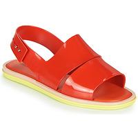 kengät Naiset Sandaalit ja avokkaat Melissa CARBON Punainen