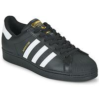 kengät Matalavartiset tennarit adidas Originals SUPERSTAR Musta / Valkoinen