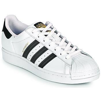 kengät Matalavartiset tennarit adidas Originals SUPERSTAR Valkoinen / Musta