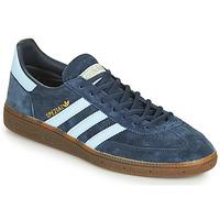 kengät Miehet Matalavartiset tennarit adidas Originals HANDBALL SPEZIAL Sininen / Valkoinen