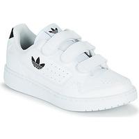 kengät Lapset Matalavartiset tennarit adidas Originals NY 92  CF C Valkoinen / Musta