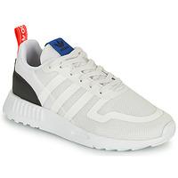 kengät Lapset Matalavartiset tennarit adidas Originals SMOOTH RUNNER C Valkoinen / Musta
