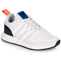 kengät Lapset Matalavartiset tennarit adidas Originals SMOOTH RUNNER J White / Black