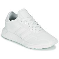 kengät Lapset Matalavartiset tennarit adidas Originals SWIFT RUN X J White