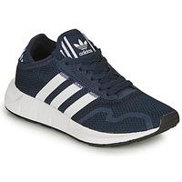 kengät Lapset Matalavartiset tennarit adidas Originals SWIFT RUN X C Laivastonsininen