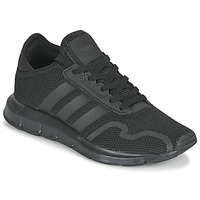 kengät Lapset Matalavartiset tennarit adidas Originals SWIFT RUN X J Black