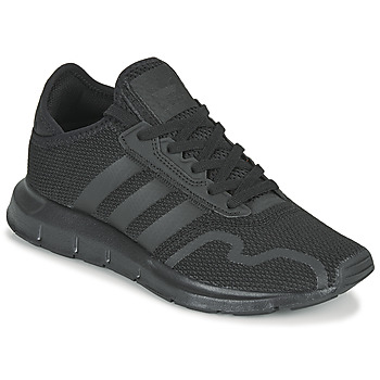 kengät Lapset Matalavartiset tennarit adidas Originals SWIFT RUN X J Musta