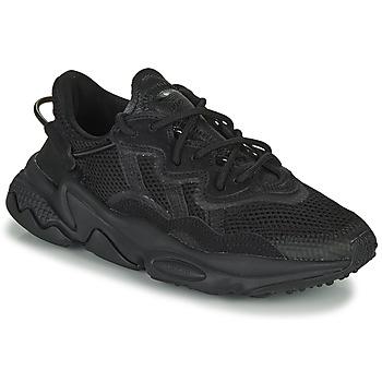 kengät Lapset Matalavartiset tennarit adidas Originals OZWEEGO J Musta
