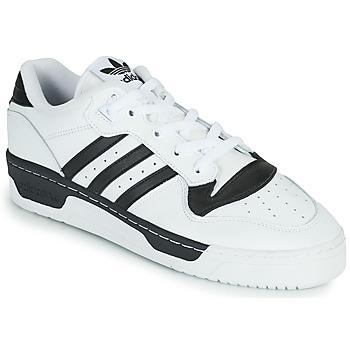 kengät Matalavartiset tennarit adidas Originals RIVALRY LOW Valkoinen / Musta