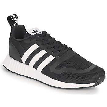 kengät Miehet Matalavartiset tennarit adidas Originals SMOOTH RUNNER Musta / Vaaleanpunainen