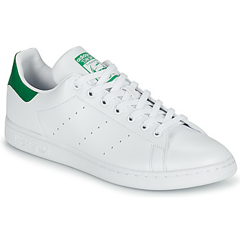 kengät Matalavartiset tennarit adidas Originals STAN SMITH SUSTAINABLE Valkoinen / Vihreä