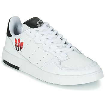 kengät Naiset Matalavartiset tennarit adidas Originals SUPERCOURT Valkoinen / Musta