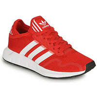 kengät Lapset Matalavartiset tennarit adidas Originals SWIFT RUN X J Punainen