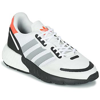 kengät Lapset Matalavartiset tennarit adidas Originals ZX 1K BOOST J Valkoinen / Harmaa
