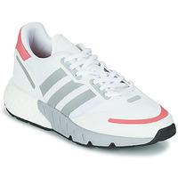 kengät Naiset Matalavartiset tennarit adidas Originals ZX 1K BOOST W Valkoinen / Vaaleanpunainen