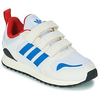 kengät Lapset Matalavartiset tennarit adidas Originals ZX 700 HD CF C Beige / Blue